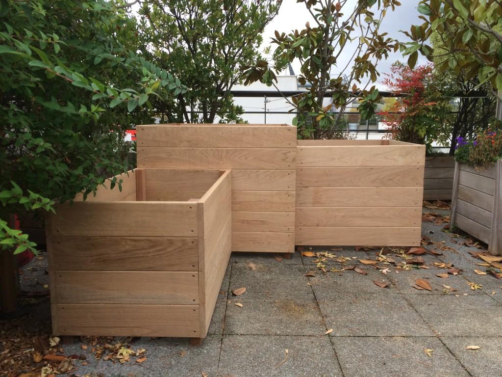 les jardiniers à vélo paris ile de france aménagement entretien terrasse jardin bac bois Issy les moulineaux