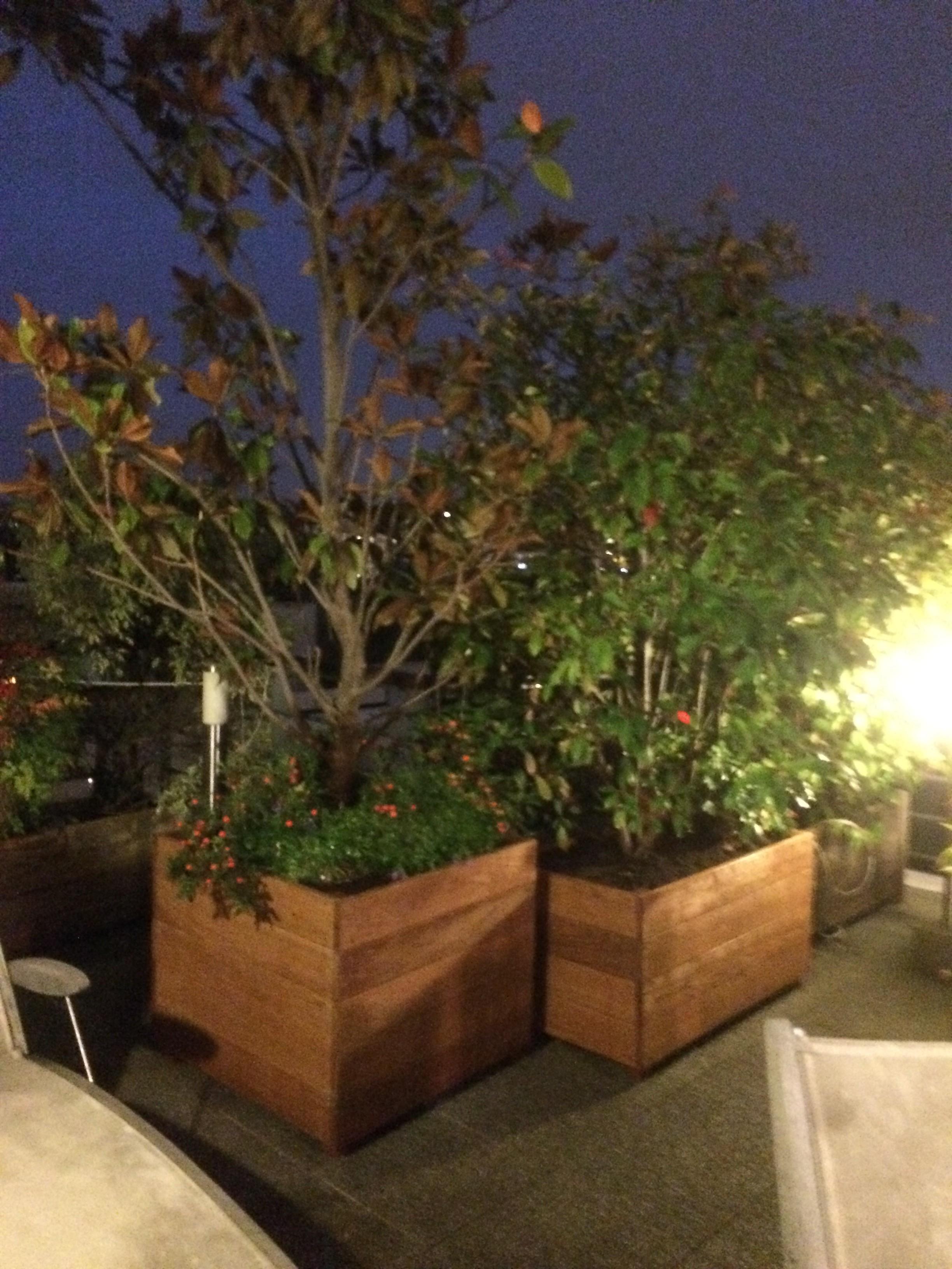 les jardiniers à vélo paris ile de france aménagement entretien terrasse jardin bac bois chêne