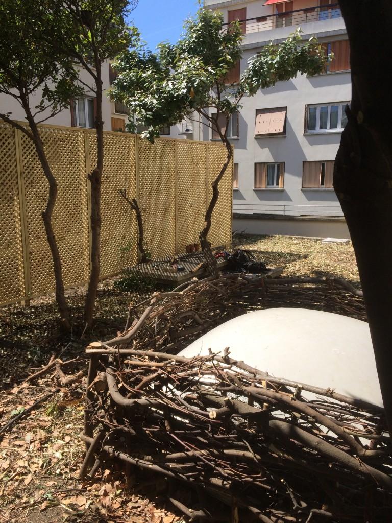 les jardiniers à vélo paris ile de france aménagement entretien terrasse jardin skydome habillage