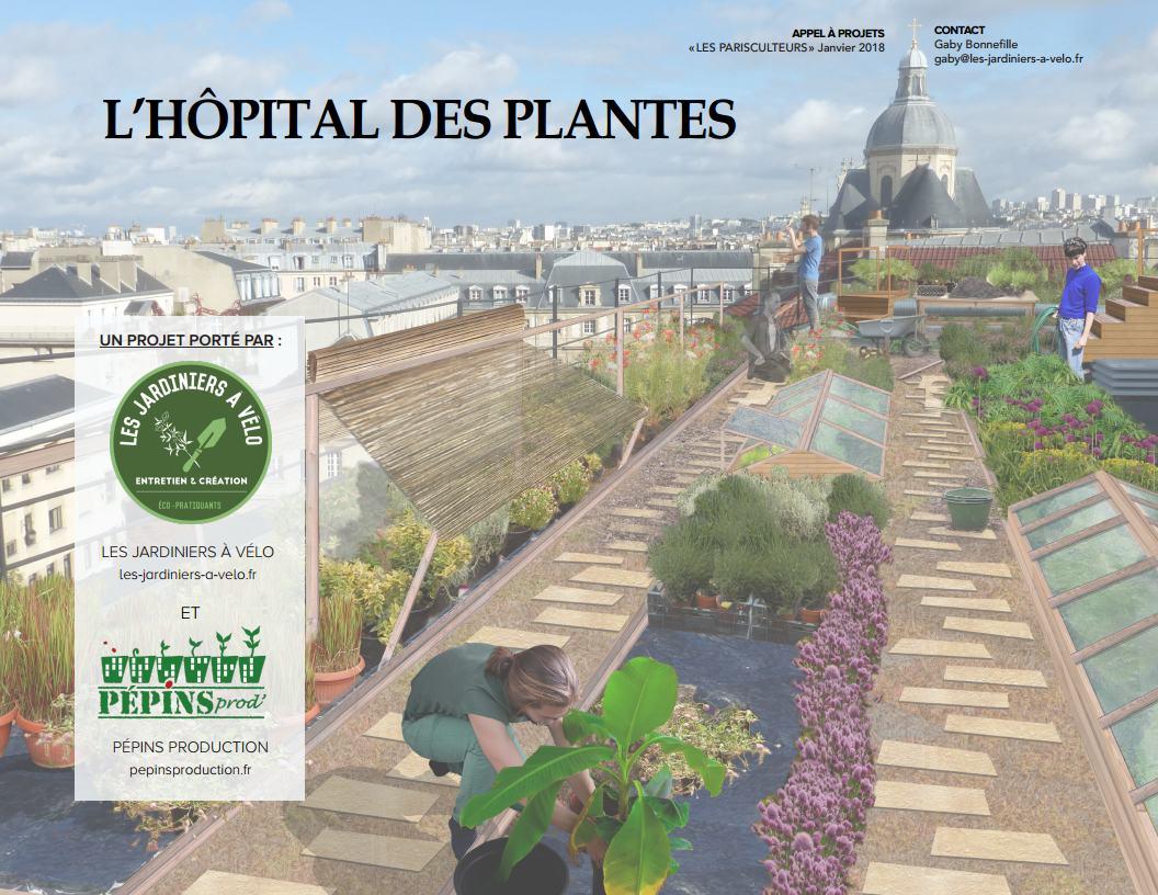 Plante Exterieur Toute Saison Pas Cher lauréat parisculteurs : l'hôpital des plantes – les